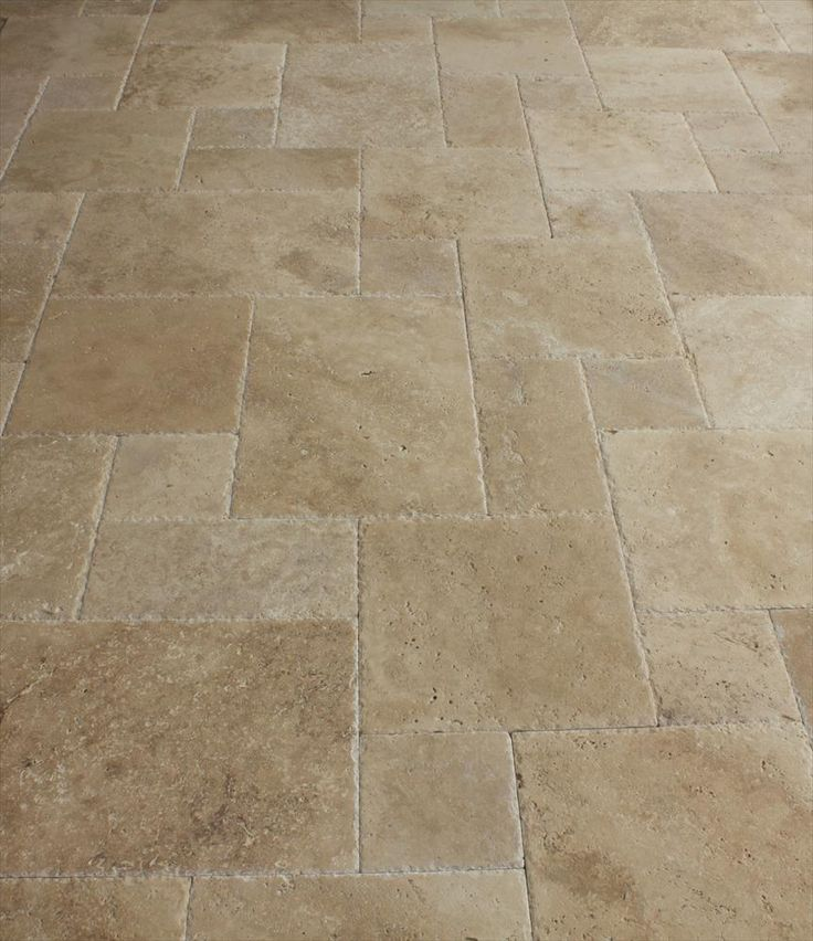 Travertine Tumbled French Pattern